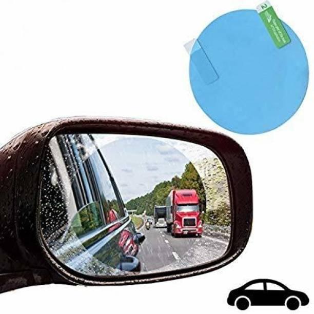 Stela Smart Slide Car Rear view Mirror Waterproof Membrane Anti-Fog Anti-Glare Film Sticker Rain Shield Accessories 10cm Car Mirror Rain Blocker