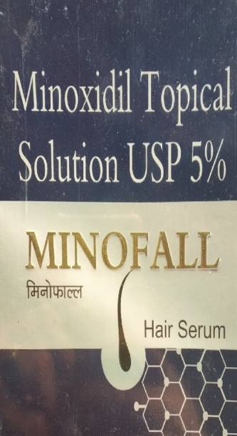 MINOFALL | Hair Serum (Minoxidil 5% Topical Solution) Pack Of 1*60ml