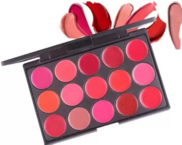 LOWPRICE 15 COLOR Pallet Soft Matt Lipgloss