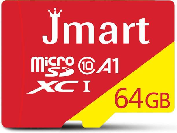 Jmart Ultra Premium 64 GB MicroSD Card Class 10 100 MB/s  Memory Card