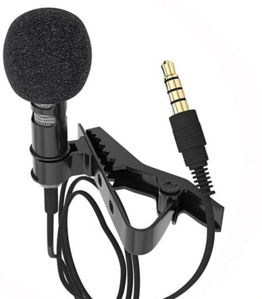 Sulfur Collar Mic Lapel Microphone for Clear Voice Recording Singing Teaching Mobile Video Recorder Microphone