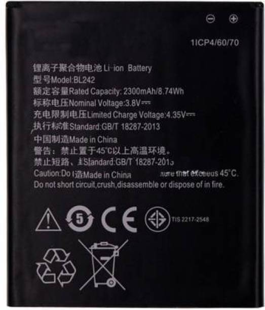 NYHBA SELLING POINT Mobile Battery For  Lenovo A6000 A3860 A3900 battery-2300mAh BL242