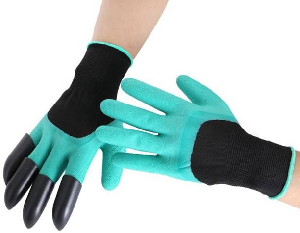 SS & WW GARDENING HAND GLOVES PACK OF 1 PAIR Gardening Shoulder Glove