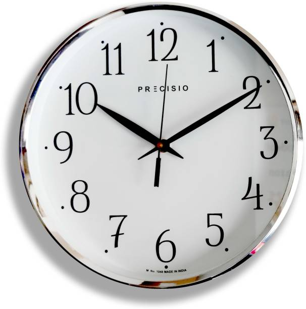 Precisio Analog 25 cm X 25 cm Wall Clock