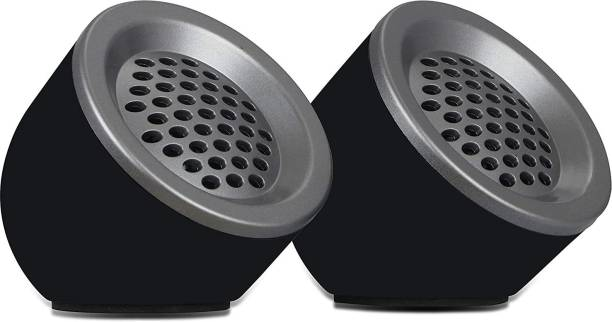 ZEBRONICS ZEB-PLUTO 5 W Laptop/Desktop Speaker (Black, 2.0 Channel) 5 W Laptop/Desktop Speaker