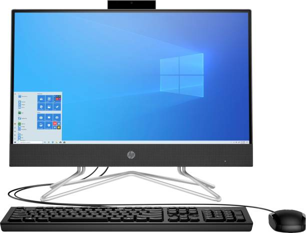 HP All in One PC Ryzen 3 Dual Core (4 GB DDR4/1 TB/Windows 10 Home/21.5 Inch Screen/22-dd0201in) with MS Office