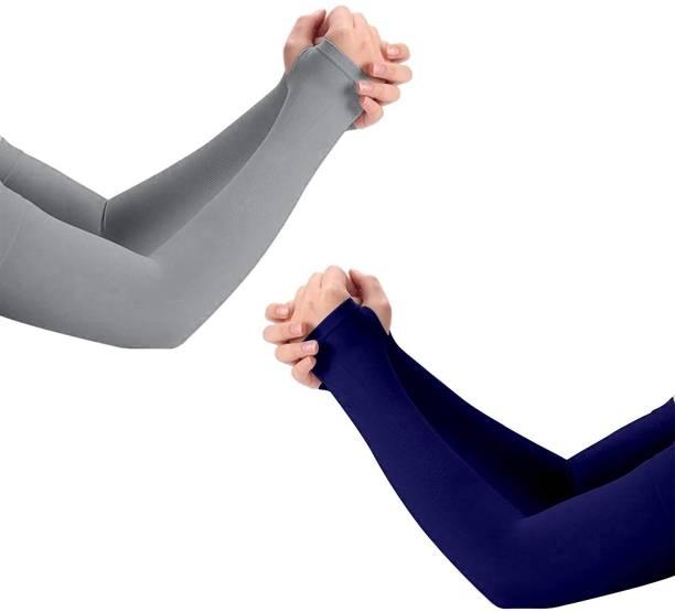 Brand's Only Cotton, Nylon Arm Sleeve For Men & Women
