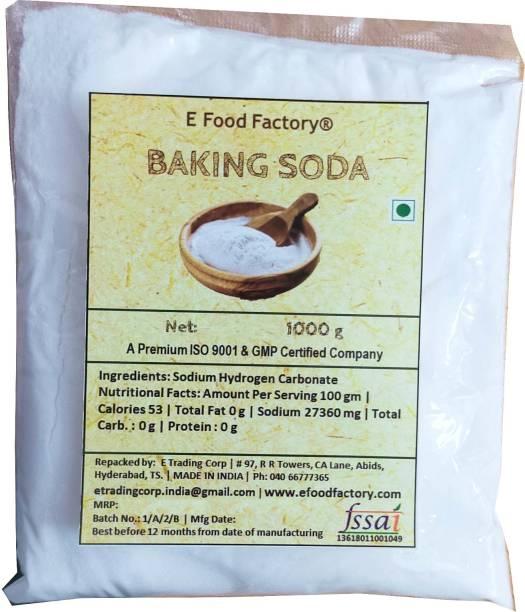 E Food Factory 1000 Gm Baking Soda In Pouch Baking Soda Powder