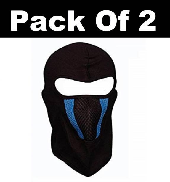 H-Store Black Bike Face Mask for Men & Women