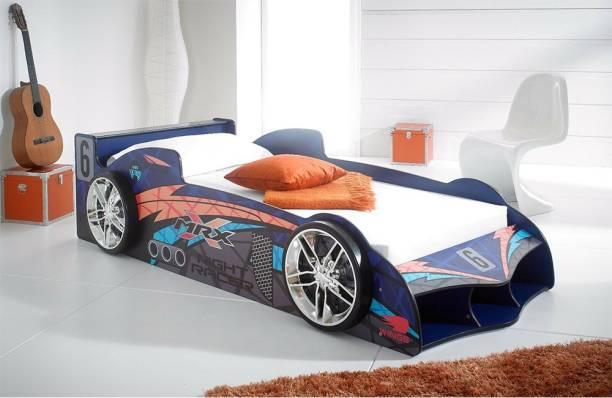 PCircle Engineered Wood Single Bed