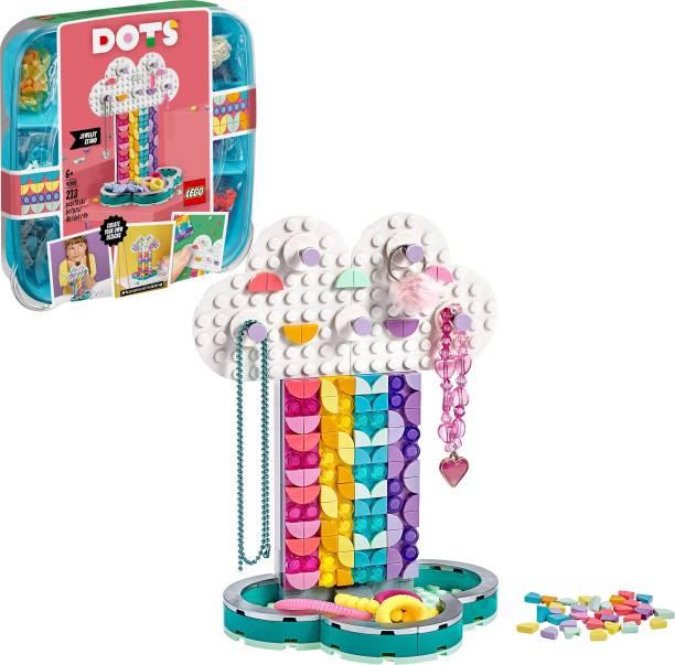 LEGO Rainbow Jewelry Stand
