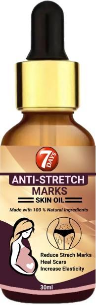 7 Days pregnancy stretch mark removal oil
