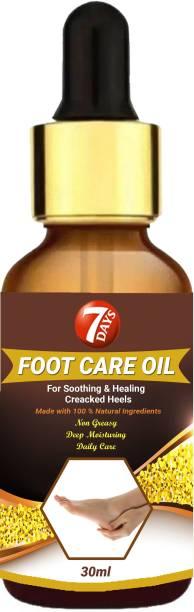 7 Days Cracked Heel Repair Oil