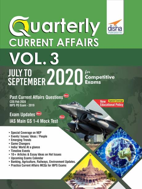 Quarterly Current Affairs July to September 2020 for Competitive Exams