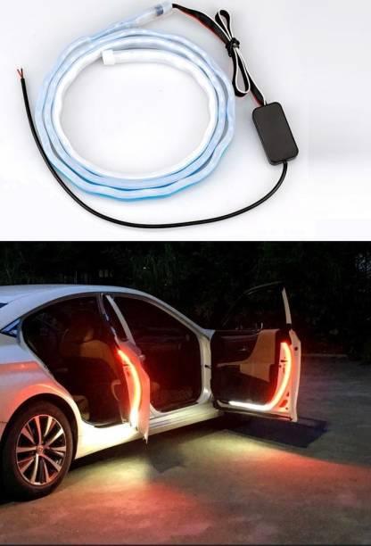 AutoPowerz Red & White Car Door Warning Light Car Fancy Lights