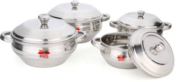 BMS Lifestyle Pack of 4 Cook and Serve Casserole Set