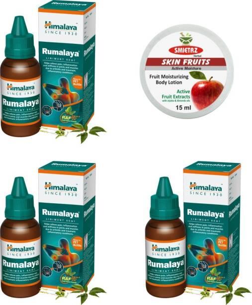 SMIETRZ Skin Fruits 15ml and Himalaya Rumalaya