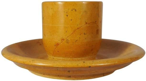 Maharaja Creation Pack of 2 Stoneware Cup & Saucer