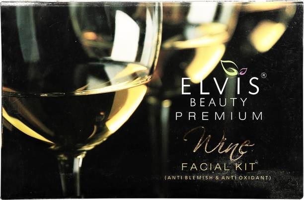 ELVIS BEAUTY EVS Premium Wine Facial Kit - Anti Oxidant