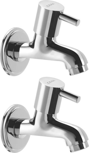 CERA - Bib Cock with Wall Flange (Pack of 2 pcs) Bib Tap Faucet