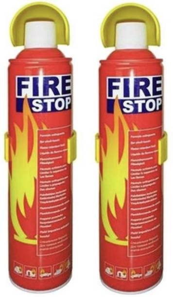 vyas Home and Car Safe 500ML Pack of 2 Fire Extinguisher Mount (1kg) Fire Extinguisher Mount