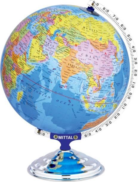 MITTAL GLOBE_12012_E TABLE TOP POLITICAL World Globe