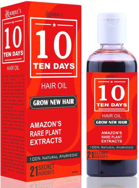 Hairole Ten 10 Days Hair Oil (For Men & Women) Hair Oil