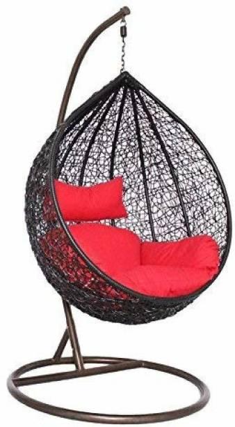 Furniture kart Swing Chair Jhula Steel Large Swing