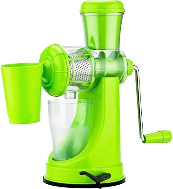MYYNTI Plastic Hand Juicer Juicer for Fruits and Vegetables Hand Juicer with Waste