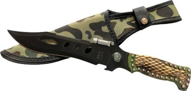 MORROSSO NM BLACK Survival Knife, Knife, Throwing Knife, Fixed Blade Knife, Campers Knife, Pocket Knife