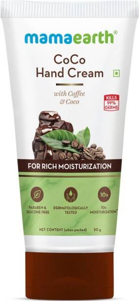MamaEarth CoCo Hand Cream for Rich Moisturization
