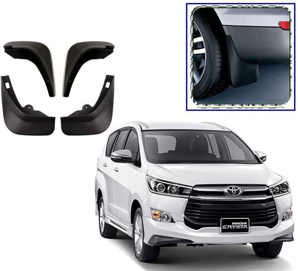 Grownshine Front Mud Guard, Rear Mud Guard For Toyota Crysta 2019