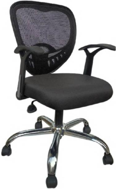 RS Enterprises DIAMOND UB SONIC OFFICE CHAIR Fabric Office Visitor Chair
