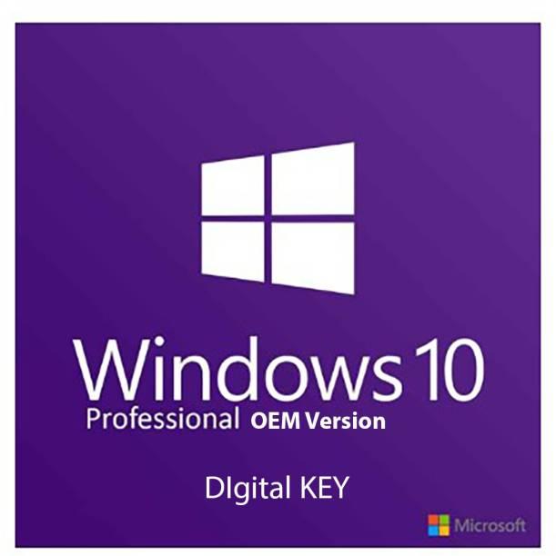 MICROSOFT Windows 10 Pro OEM Digital Key 64 bit