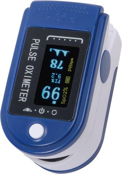 Prozo Plus Fingertip Pulse Oximeter, Multipurpose Digital Monitoring Pulse Meter Rate & SpO2 With OLED Digital Display, Premium Product - Multicolour Pulse Oximeter