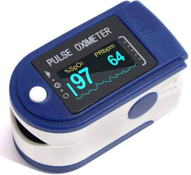 iSpares Dr. Chek+ Test PULSE OXIMETER SP-02 with OLED Colored Digital Display Finger Pulse Oximeter Spo2H Blood Oxygen Monitor Arterial Saturation Monitor With Pulse Rate Monitor , Heart Rate Monitor Medical Health Monitoring Device with Automatic Shutdown Fintertip Pulse Oximeter for Measuring Human Hemoglobin Saturation Oximeter Pulse Oximeter ( Batteries NOT Included) Pulse Oximeter