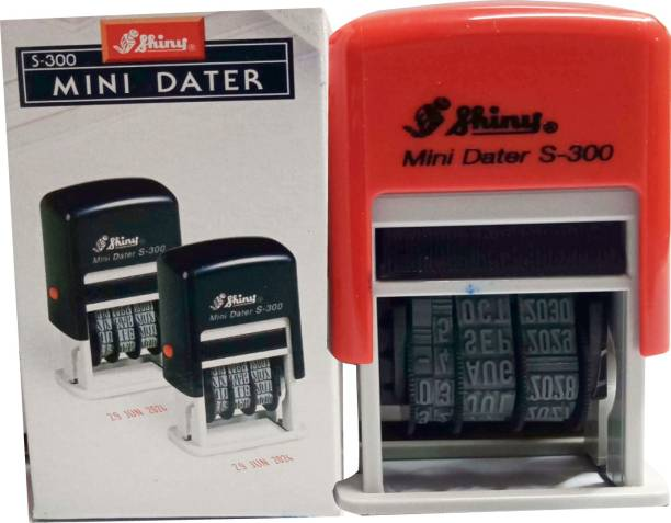SHINY S-300 Date Stamp Self-inking
