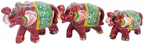 RVART home decor elephant showpiece Decorative Showpiece  -  10 cm