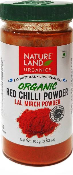 Natureland Organics Red Chilli Powder