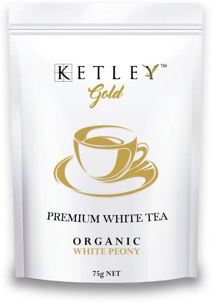 Ketley Gold Organic White Peony White Tea Pouch