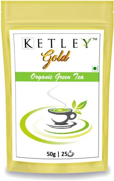 Ketley Gold 50g Organic Green Tea Pouch