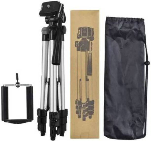 ashiv TOP SELLING High Quality Tripod Stand 360 Degree 3110 Portable Digital Camera DSLR Mobile Stand Holder Camcorder Tripod Stand Adjustable Head Lightweight Aluminum Flexible Portable Three-way Head stand Compatible Al Smartphone Tripod Monopod Kit, Monopod, Tripod, Tripod Kit, Tripod Ball Head, Tripod Bracket, Tripod Clamp