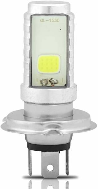 AllExtreme EXH4W1P H4 Headlight High Brightness COB 900Lm 12V LED Head Lamp Bulb For Cars Vehical HID Kit