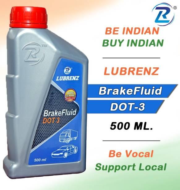LUBRENZ BrakeFluid DOT-3 High Performance Brake Oil