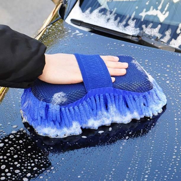 krenz Microfiber, Cotton Vehicle Washing  Sponge