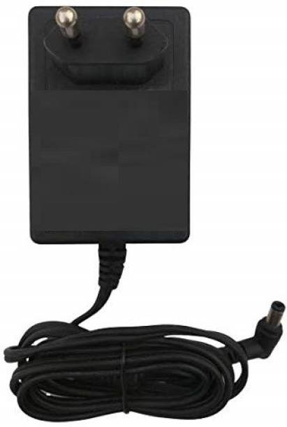 Revice Power Adapter Charger 12V 2Amp (2.5mm PIN) for DTH(TATA Sky,Dish,AIRTEL,VIDEOCON and More) Black Worldwide Adaptor