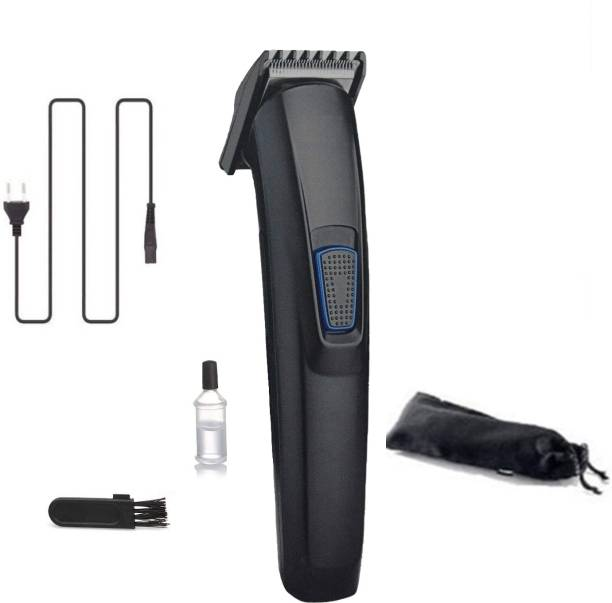 MECHMINO Rechargeable HTC-522 Cordless Premium Quality Strong Power Low Sound Trimmer For Both Men & Women  Runtime: 45 min Trimmer for Men & Women