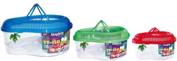 Dophin 3 in 1 Elliptical Aquarium Tank