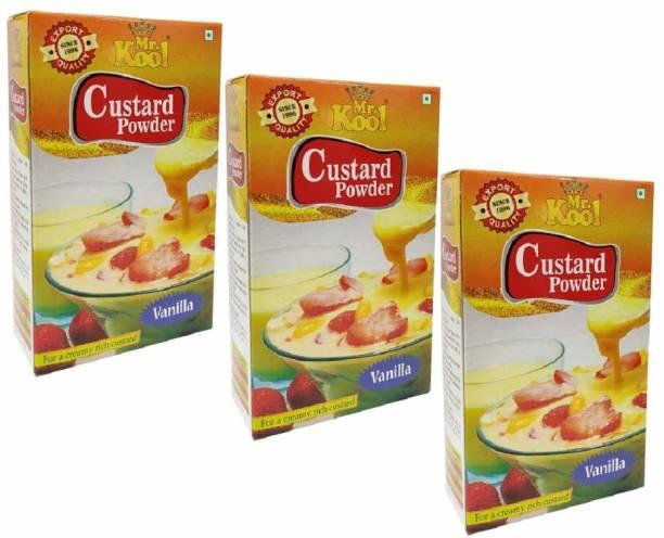 Mr.Kool Instant Custard Powder Vanilla Flavor 300g Custard Powder
