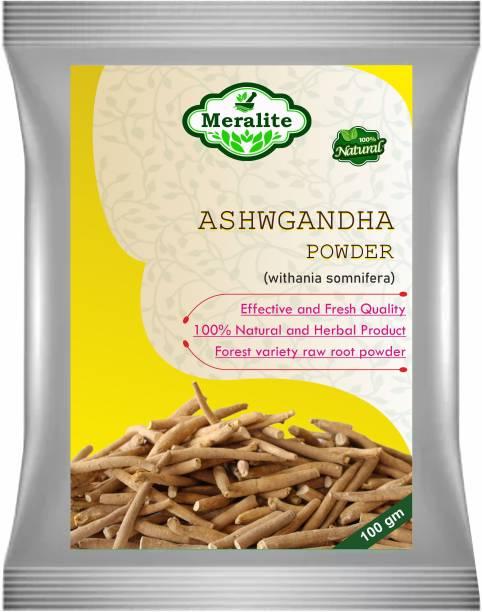 Meralite Ashwagandha Powder 100 grams (Withania somnifera) Powder Powder